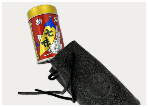 七味缶ポーチ