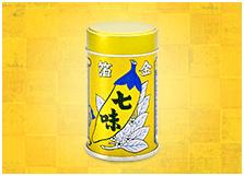 金箔七味缶